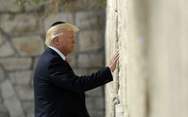 Trump officials advised Israel to expand Jewish prayer at Western Wall