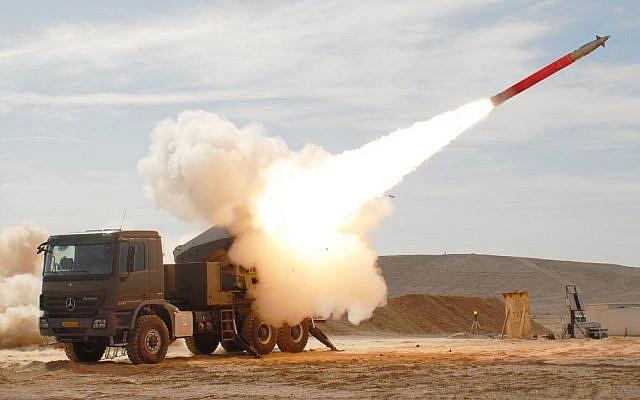 Israel said set to build up vast medium-range missile array