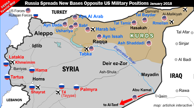 Russia builds four new air bases in Syria, deploys another 6,000 troops