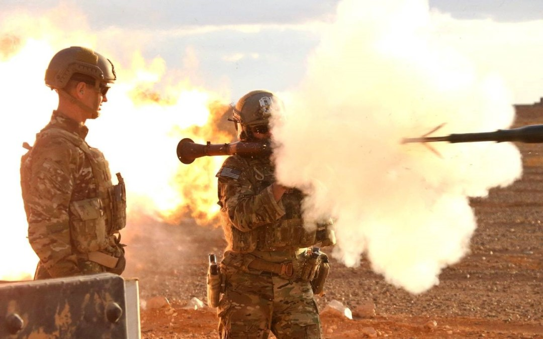 US air, artillery strike Hizballah, Iranian forces in E. Syria