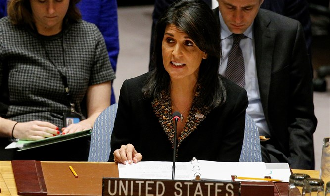 Haley: UN Security Council must establish ceasefire in Syria
