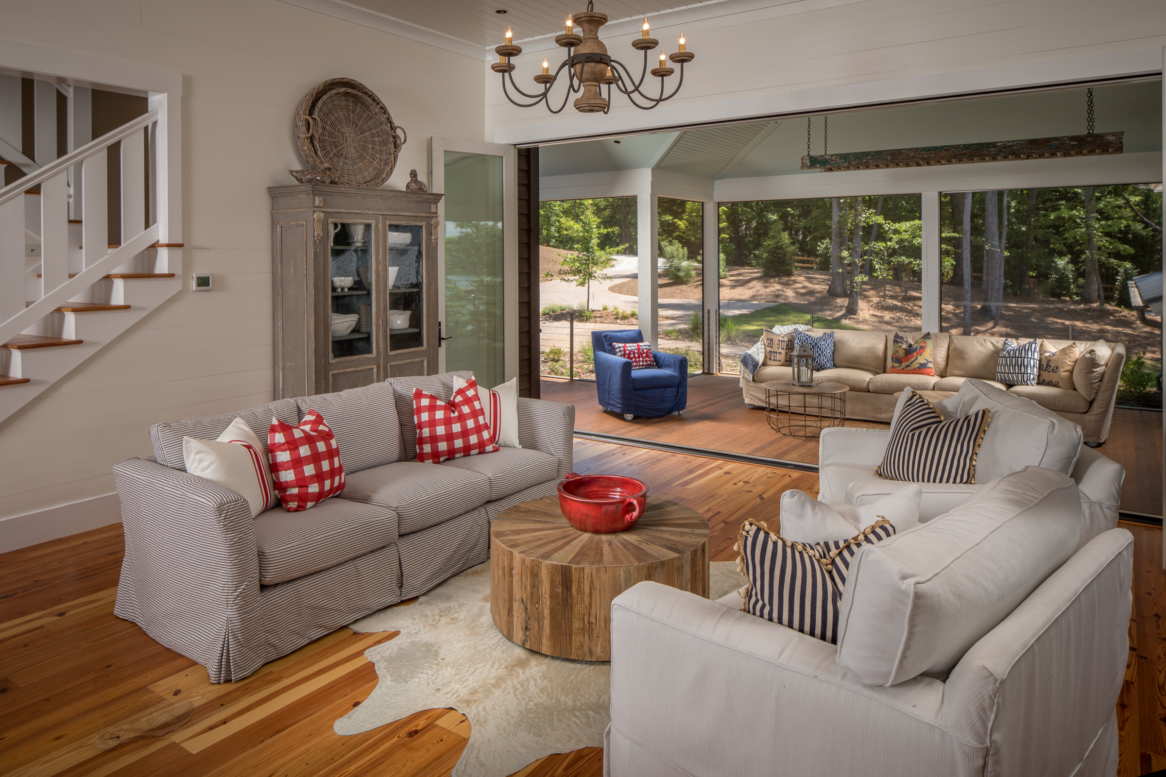Rustic Lake Home Living Room And Outdoor Furnishings From Yesterdayu0027s Tree  Furniture In Asheville, NC