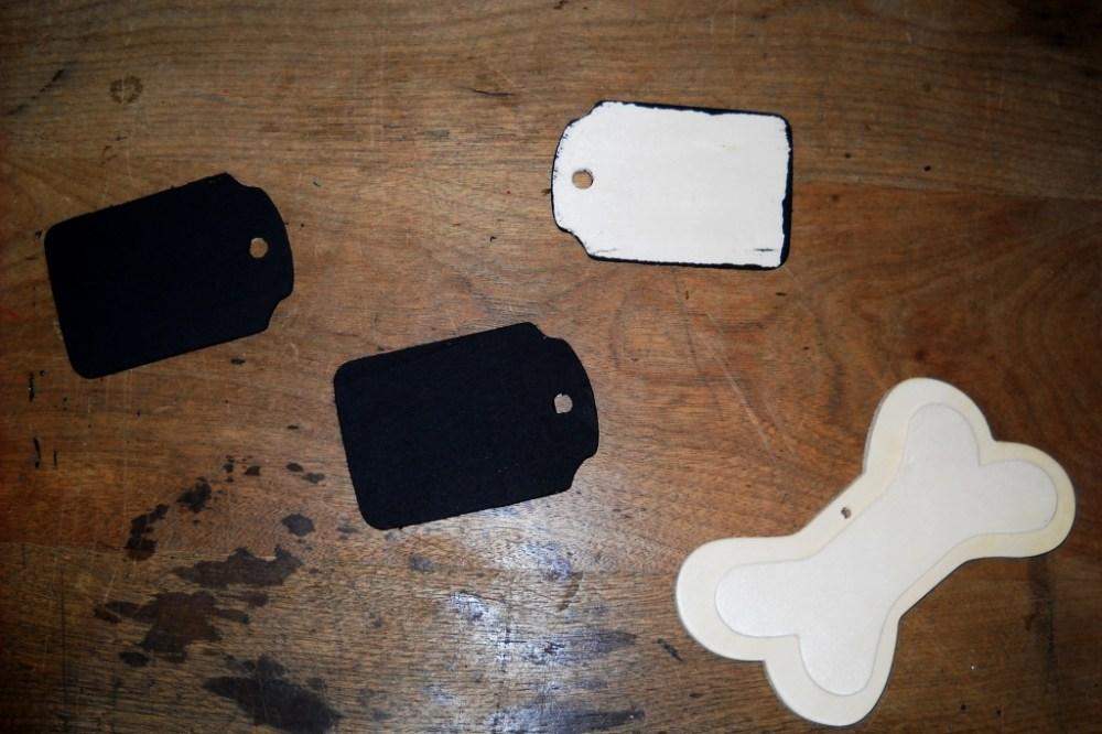 Wooden Christmas Stocking Tags (3/6)