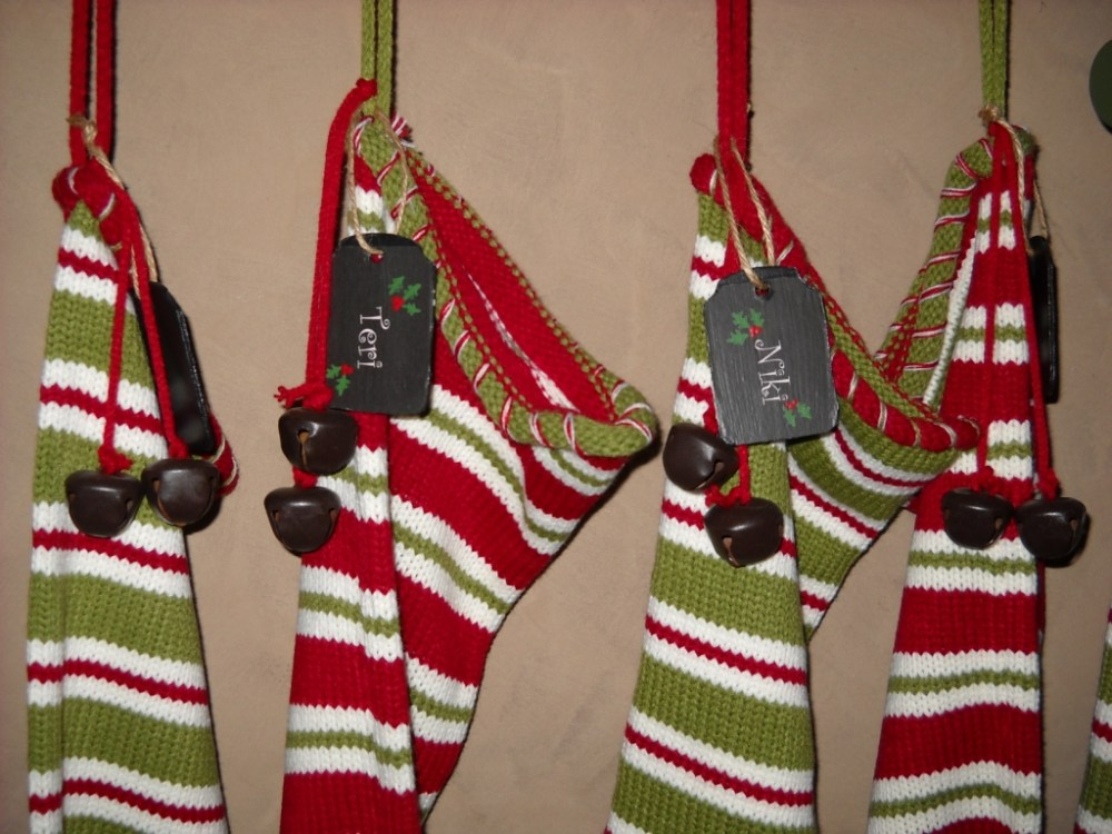 Wooden Christmas Stocking Tags (1/6)