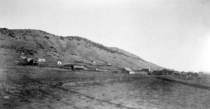 Coal Mines at Almy, 1871