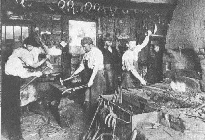 Image from www.victorianweb.org/history/work/blacksmith.html