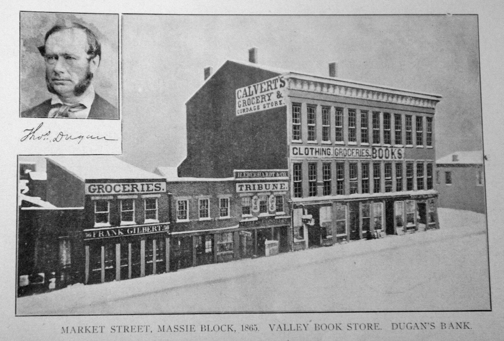 Market Street - 1865 - Portsmouth, Ohio