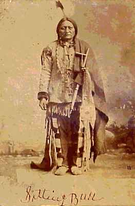 Sitting Bull, Great Chief of the Sioux (3/4)
