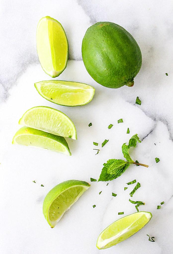 Mojito Melon Salad | yestoyolks.com