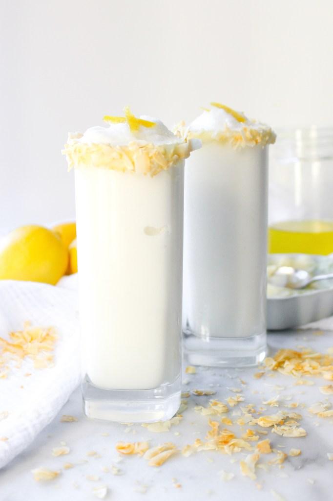 Lemon Coconut Frosties