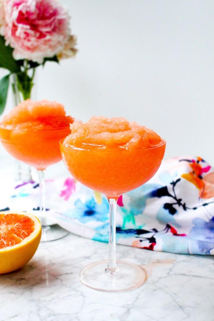 Frozen Grapefruit Negroni