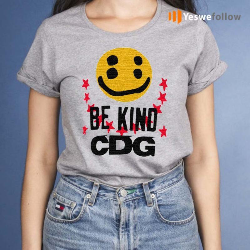 CDG-Be-Kind-T-Shirt