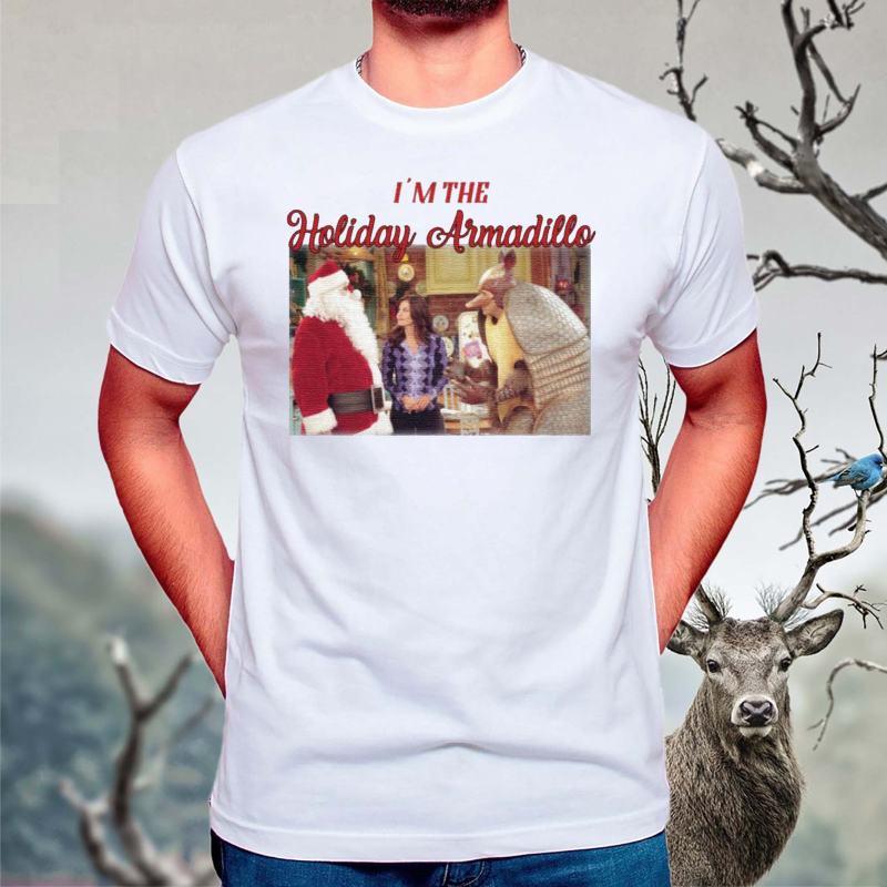 Friends-I'm-the-Holiday-Armadillo-Christmas-T-Shirts