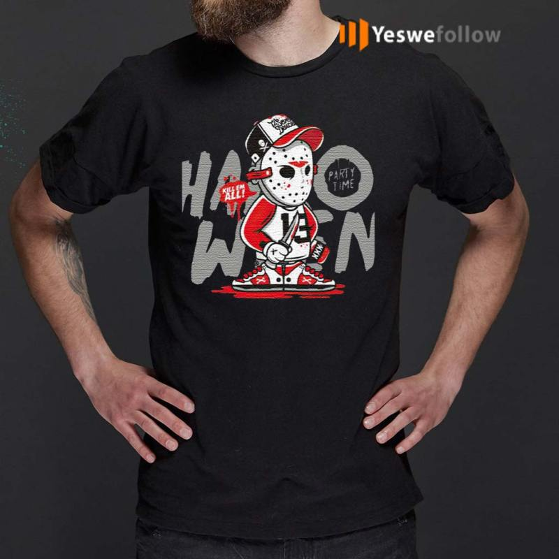 Halloween-Party-Jason-Voorhees-Time-Kill-Them-All-T-Shirts
