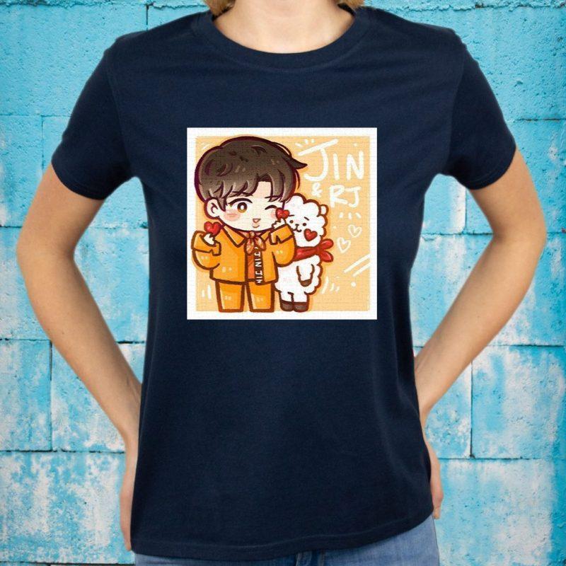 Jin and RJ T-Shirts