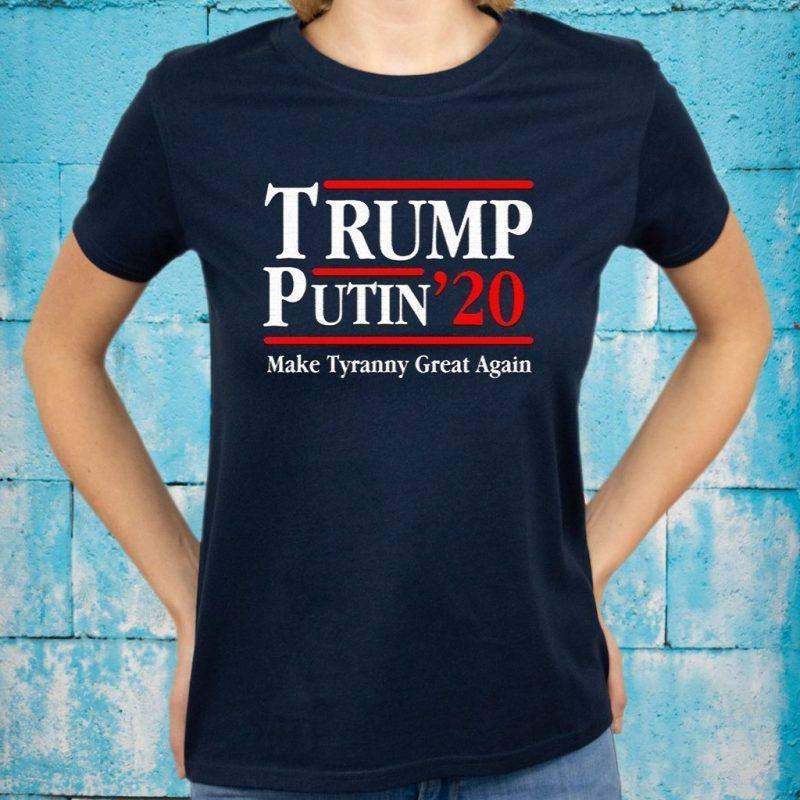 Trump Putin 2020 T-Shirts