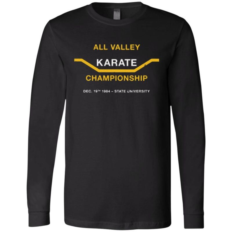 all valley karate tournament tshirt