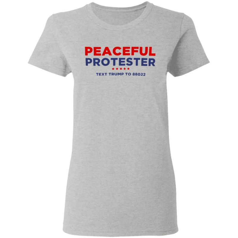 Peaceful Protester Tee Shirt