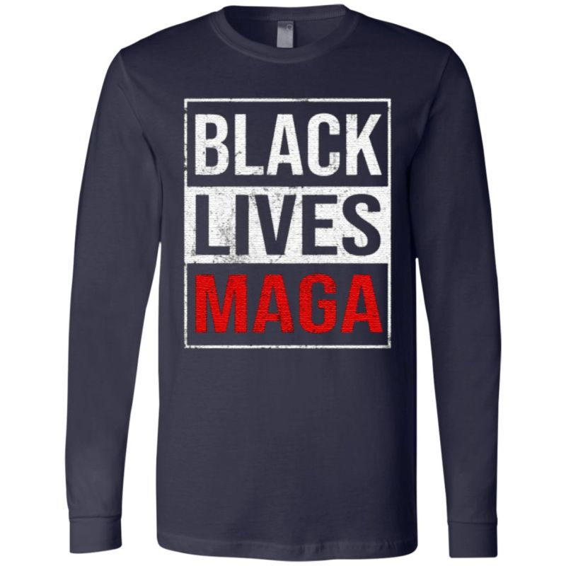 Black Lives Maga T Shirt