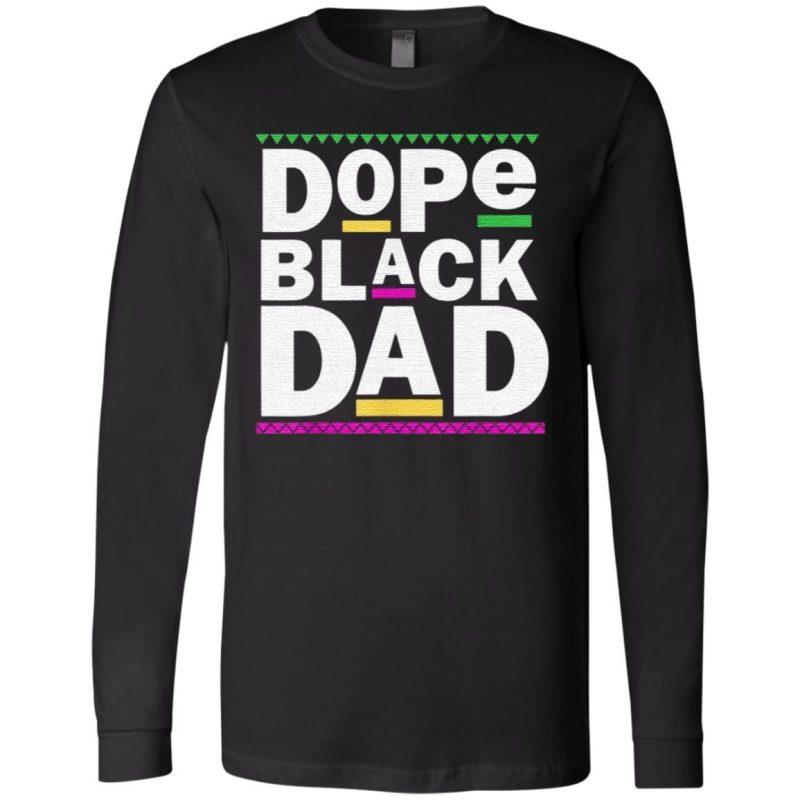 Dope Black Dad Premium T-Shirt