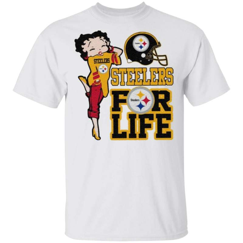 Pittsburgh Steelers Girl for life t shirt