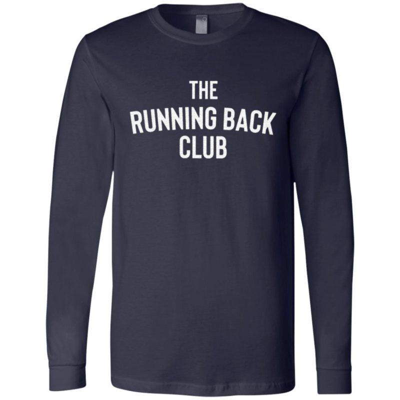 The Running Back Club T Shirt