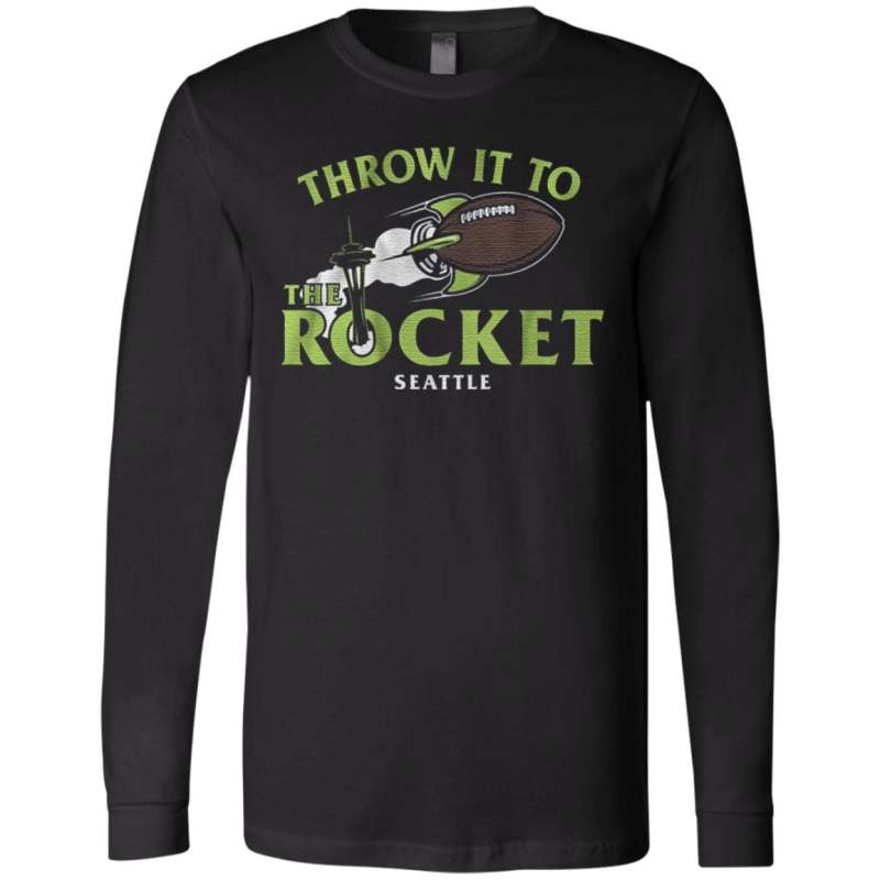 throw it to the rocket t shirt