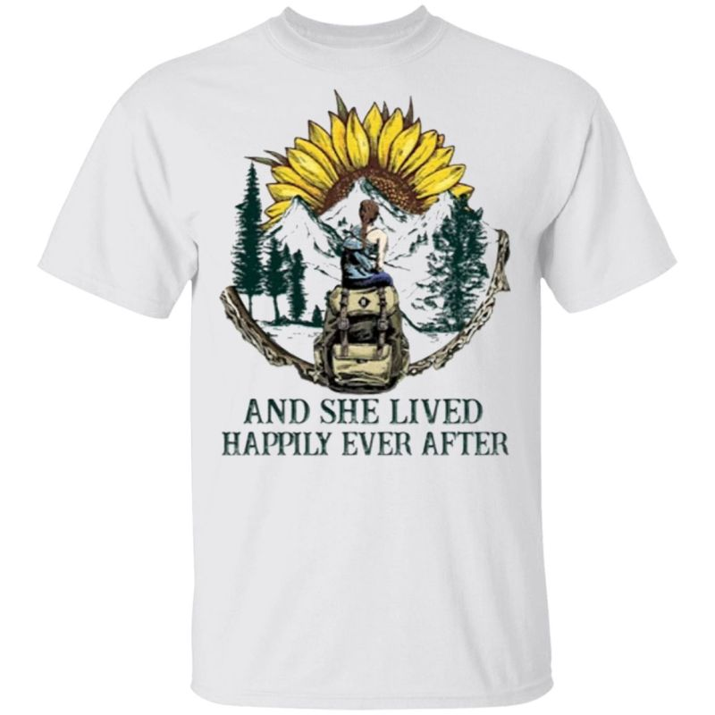 And She Lived Happily Ever After T-Shirt