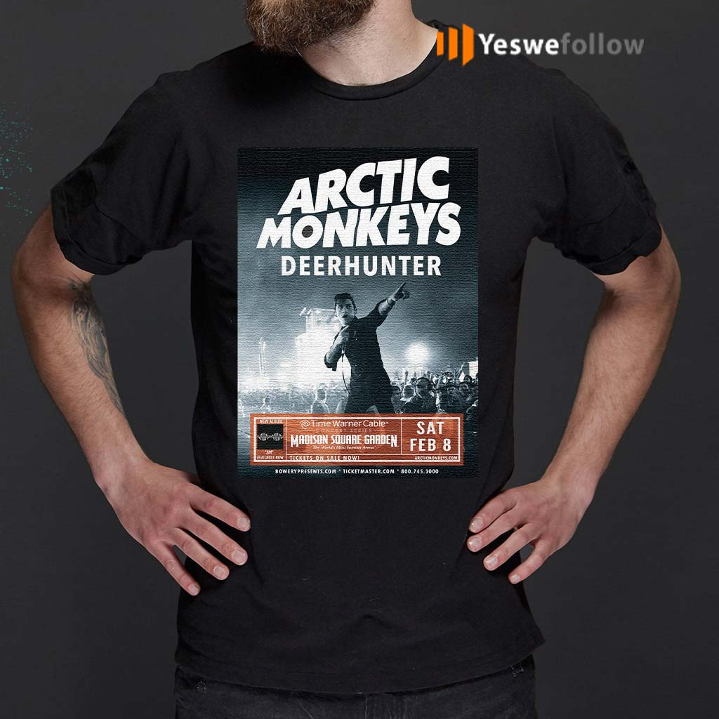 Arctic-Monkeys-Deer-Hunter-T-Shirts