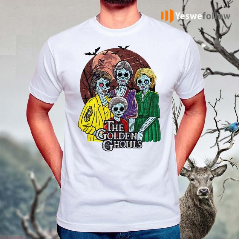 Happy-Halloween-The-Golden-Ghouls-T-Shirts