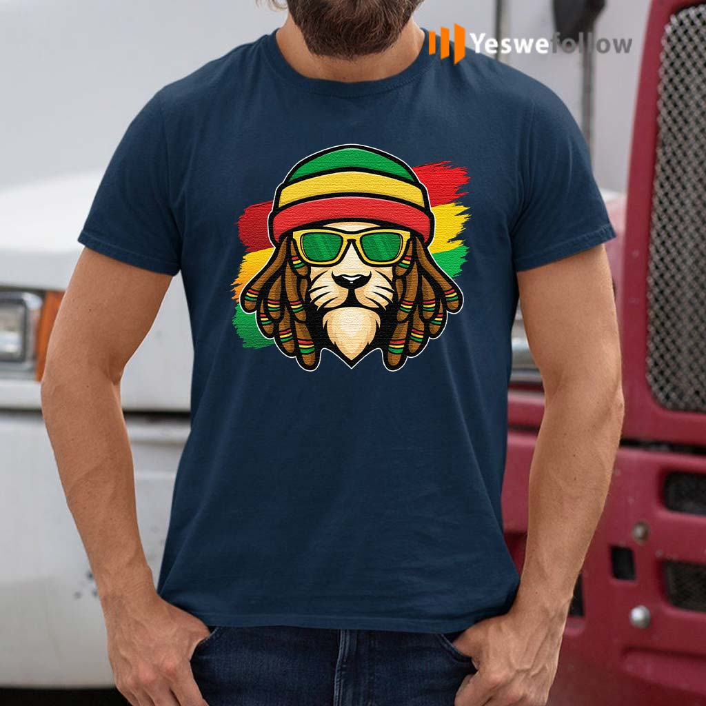 Roots-Reggae-Music-Rasta-Lion-T-Shirt