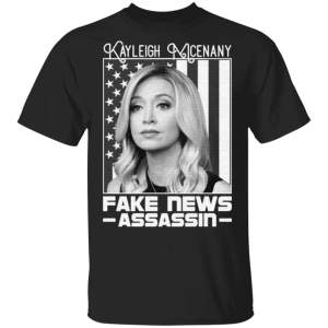 Kayleigh McEnany Fake News Assassin T-Shirt
