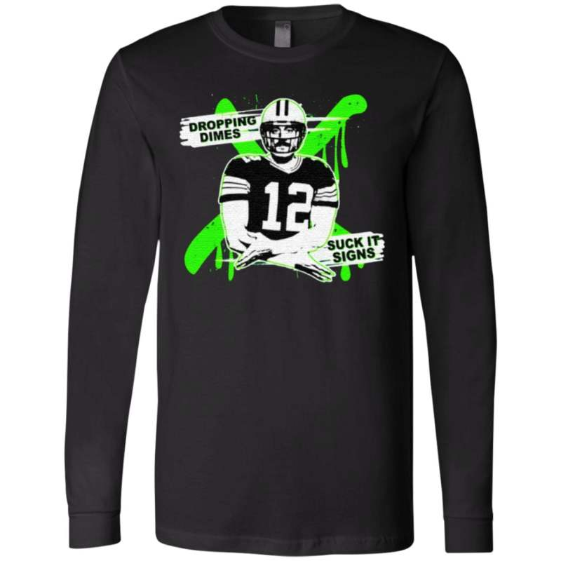 Aaron Rodgers Dropping Dimes T Shirt
