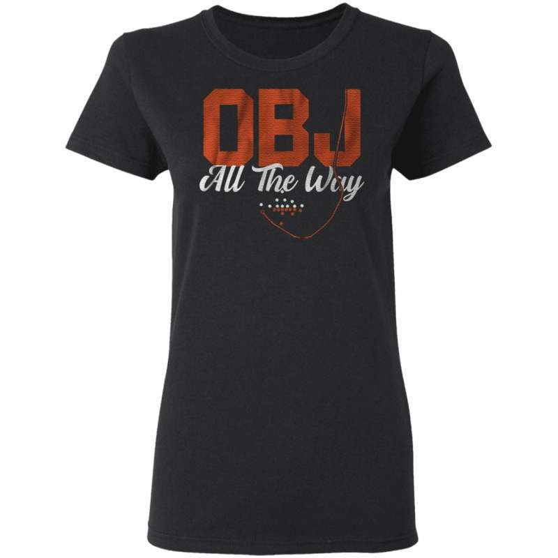 obj all the way t shirt