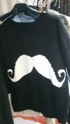 Jersey Hipster Bigote
