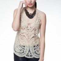 25 prendas para primavera 2013:crochet, encaje y guipur