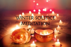Winter Solstice Meditation Video 5 minutes Inner Light