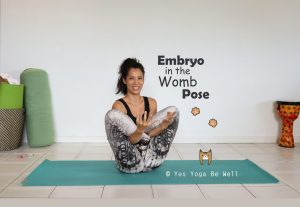 Embryo in the Womb Yoga Pose