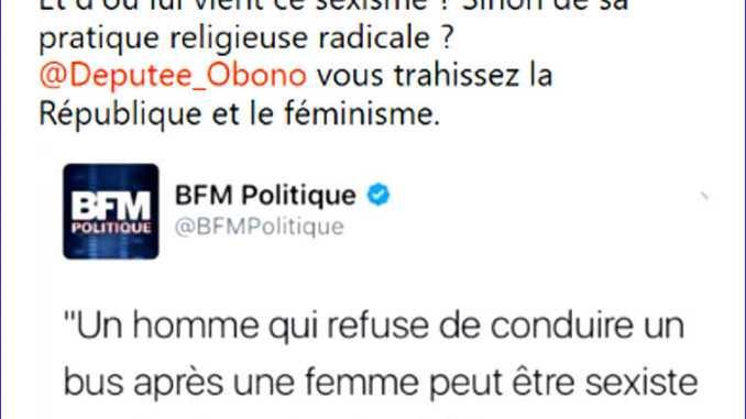Tweet Fatiha Boudjahlat