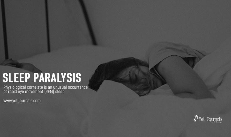 Sleep Paralysis Yeti Journals