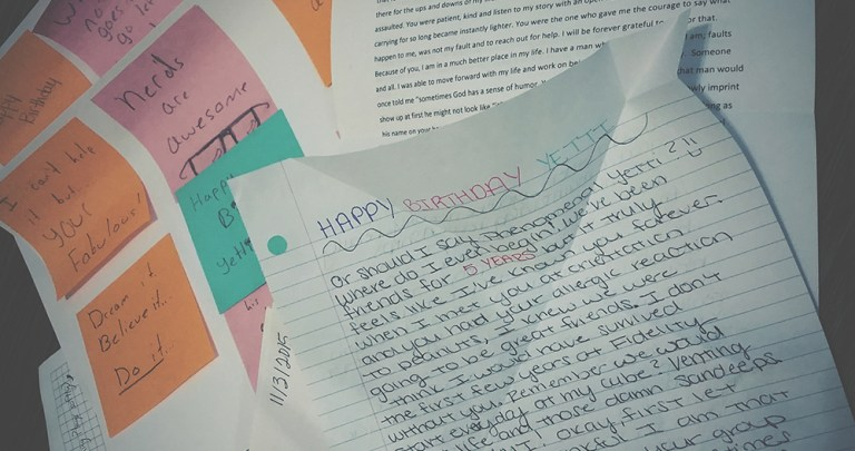 Dear Year 27 / 27 Letters for my 27th Birthday