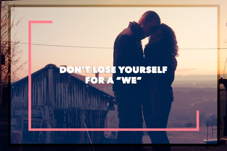 Don't Lose Yourself, For A 'We'