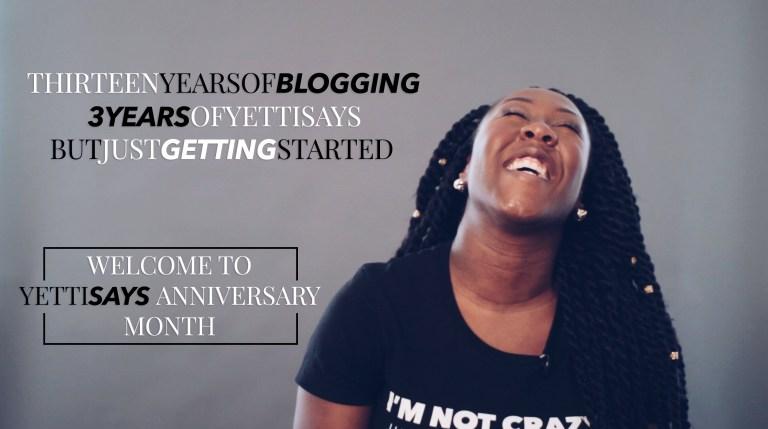 Year 3 – YettiSays Anniversary + Giveaway