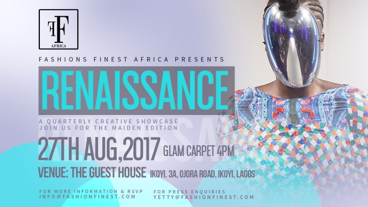 Introducing the fab four designers for Fashions Finest Africa Renaissance – Maiden Edition