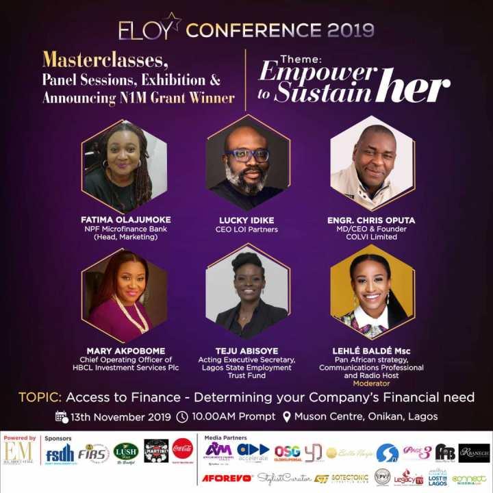 ELOY CONFERENCE 2019 | MEET PANELIST 4.