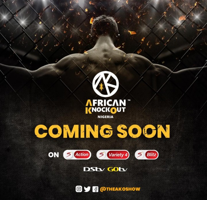 AFRICAN KNOCKOUT REALITY TV SHOW SET TO CHANGE SPORTS ENTERTAINMENT IN NIGERIA.