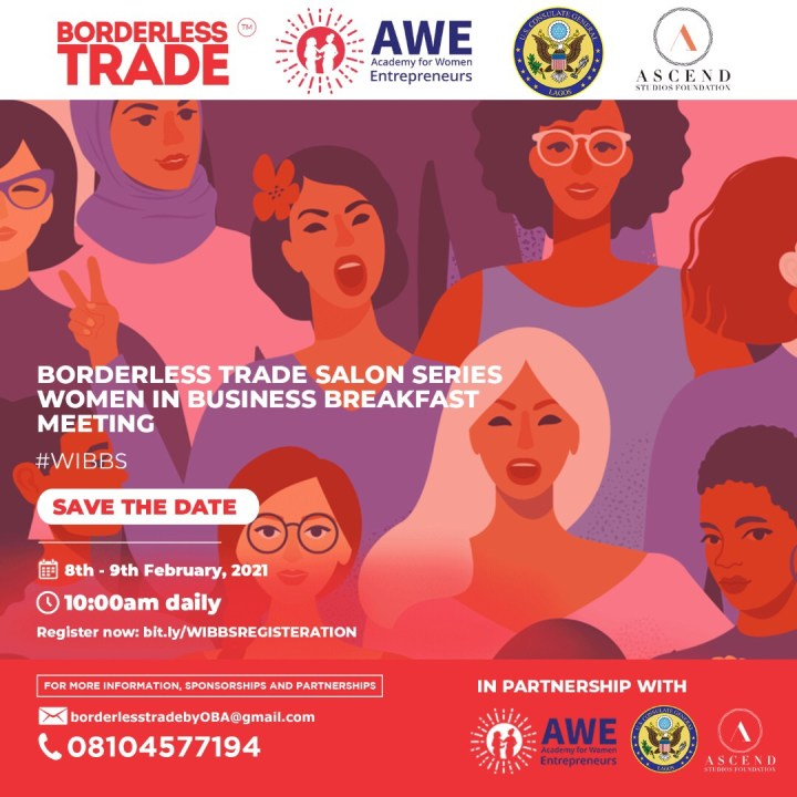 The First Women In Business Breakfast Salon Series by Borderless Trade Is Here!