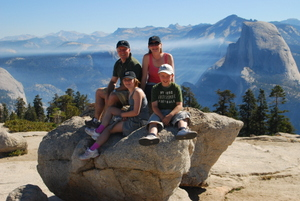 Yosemite Beginner Sentinel Dome Hike