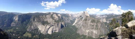 Glacier Point Panorama by John P. DeGrazio
