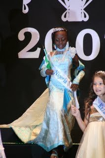 "8 YEAR OLD BLACK SKINNED BEAUTY WENDY KASUMU WINS""LITTLE MISS MODEL 2007 ""WORLD CONTEST IN TURKEY! BLACK TRULY IS BEAUTIFUL!"